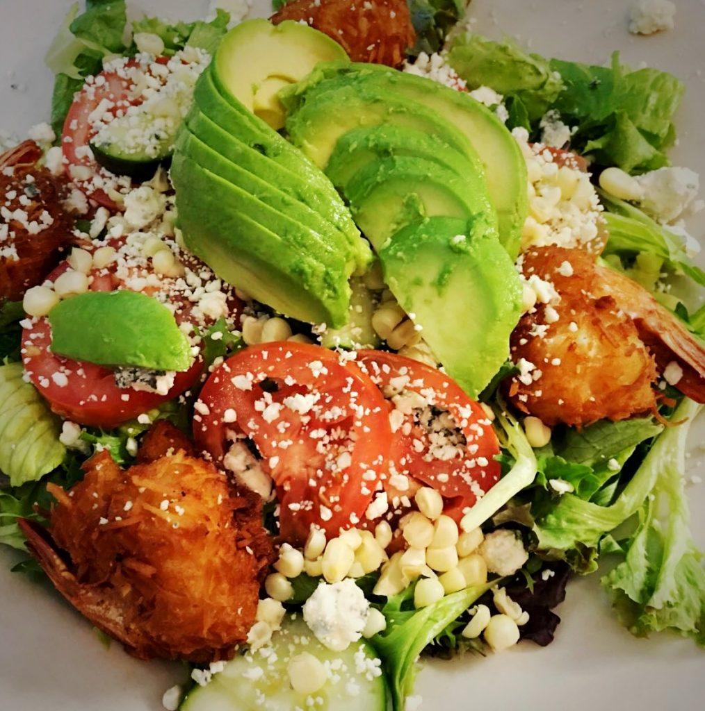 coconut-shrimp-avocado-salad