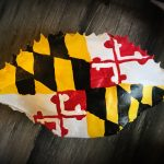 maryland-flag-crab-shell